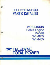 WISCONSIN  HD ENGINE W1-145V W1-185V  PARTS  MANUAL