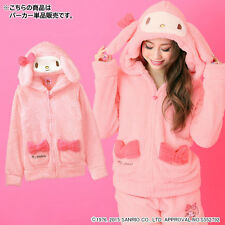 Rare Sanrio Kuromi Hello Kitty My Melody Hoodie Costume Room Wear Jacket SIZE S
