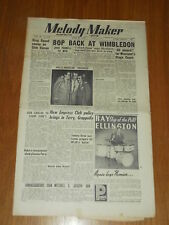 MELODY MAKER 1950 #872 APR 22 JAZZ SWING JACK PARNELL GRAPPELLY DON CARLOS
