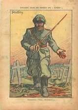 Caricature Politique Anti-Communiste URSS USSR CCCP Bolchevik 1937 ILLUSTRATION