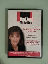 red zone marketing  THE CLIENT EXPERIENCE  maribeth kuzmeski  CD