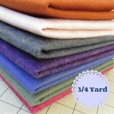 3/4 Yard Merino Wool blend Felt 35% Wool/65% Rayon - Cut to order