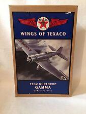 NEW ERTL Wings Of Texaco 1932 Northrop Gamma Airplane Bank. 2nd In Series.