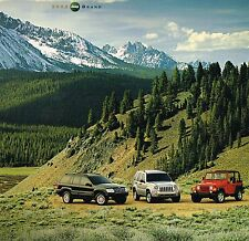 2002 JEEP Brochure / Catalog with Color Chart : GRAND CHEROKEE,WRANGLER,LIBERTY