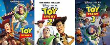 Toy Story Complete Trilogy 1 2 3 DVD Disney Movies