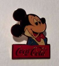 Mickey Mouse, Coca-Cola Disney Pin, From Cast Member Framed Set