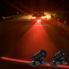 Car Auto Vehicle LED Laser Fog Light Anti-Collision Taillight Brake Warning Lamp
