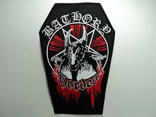 BATHORY  EMBROIDERED BACK PATCH