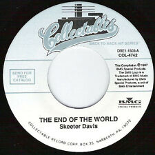 SKEETER DAVIS - The End Of The World 7""