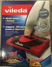 Vileda  Electric Sweeper And Dustmop