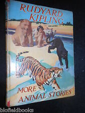 RUDYARD KIPLING; More Animal Stories - c1942 - Vintage Children's Book, Limited