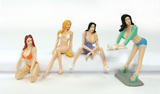 1:24 scale FAST WOMEN (The Wash Down #847)  4 Pre Painted Lot Lizards