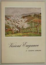 Giuseppe Aliprandi VISIONI EUGANEE 1961 Abano Terme Santini Veneto