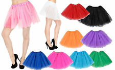 Ladies Girls Women Adult Tutu Skirts Mini Dancewear Pettiskirt Fancy Dress Party