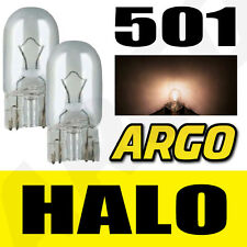 501 CLEAR HALOGEN T10 W5W 194 SIDELIGHT BULBS VOLVO C70 CONVERTIBLE