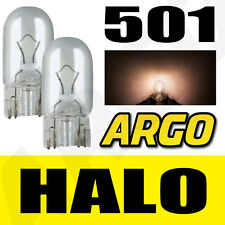 501 CLEAR HALOGEN T10 W5W 194 SIDELIGHT BULBS VOLVO C60