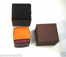 Fancy Regal Wood Ring Box for Engagement Ring Box/Wedding Jewelry Box. B9