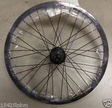 "20"" bmx bike REAR wheel a 9 tooth DRIVER 3/8"" axle &14MM AXLE 9T DRIVE"