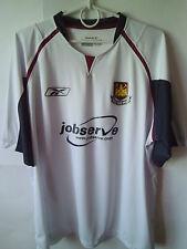 2005-06 West Ham Away Shirt Jersey Trikot L
