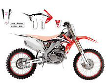 BLACKBIRD HONDA CRF 250 2010-2013 KIT GRAFICHE ADESIVI REPLICA HRC 2014 GRAPHICS