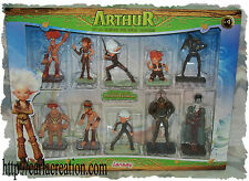 Exclusive 10 Figurines Collector De 10 à 5 cm Arthur Et Les Minimoys Lansay