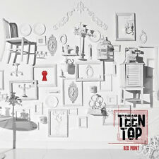 TEEN TOP-[RED POINT] CHIC Ver 7Th Mini Album CD+Poster+Photocard  K-POP Sealed