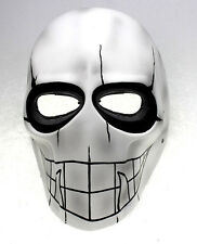 PC Lens Eye Mask Paintball Airsoft Full Face Protection Skull Mask Prop M07838