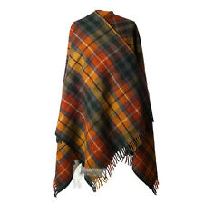 ALL WOOL FULL-SIZE LADIES CAPE - SCOTTISH TARTAN - BUCHANAN ANTIQUE