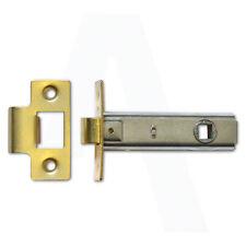 Loquet Tubulaire ASEC as3253 pour 64 mm laiton poli réglable tang