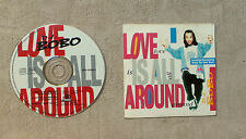 """CD AUDIO MUSIQUE / D.J. BOBO """"LOVE IS ALL AROUND"""" CD SINGLE 3T 1994 CARDSLEEVE"""