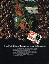 PUBLICITE ADVERTISING 035  1971  COTE-D'IVOIRE    café                    090315