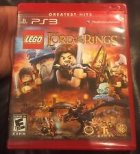 PLAYSTATION 3 PS3 GAME LEGO LORD OF THE RINGS. No Manual.