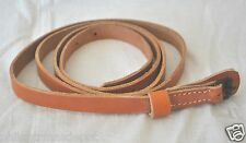 """Canteen Strap or Sling - Natural Leather - 73"""" Long - Civil War"""