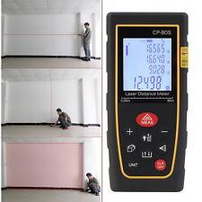 80M Handheld Digital Laser Distance Meter Range Finder Measure Diastimeter SHL