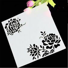 3 roses Pattern Paper cutting Stencil for art craft spray cake and Home decor