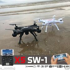 X5SW-1 Pro Black Wifi FPV Camera Drone 2.4Ghz RTF 4CH RC with 0.3MP Quadcopter