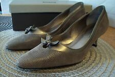 LADIES LIZARD SKIN SHOES SIZE 4 1/2 UNWORN