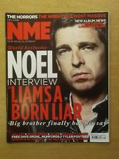 NME JULY 23 2011 LIAM GALLAGHER WOLF GANG MUMFORD AND SONS DAVE GROHL WU LYF