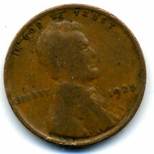 1925 P WHEAT PENNY 1 Cent KEY DATE US CIRCULATED ONE LINCOLN RARE CENT COIN#674