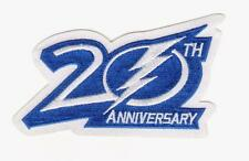 NHL TAMPA BAY LIGHTNING 20TH ANNIVERSARY PATCH 2013
