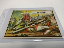 1962 Topps Civil War News Card # 77 Trapped
