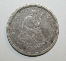1858  SEATED LIBERTY QUARTER  C073