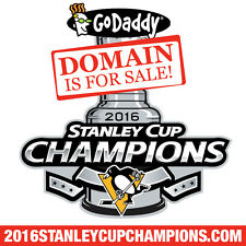 2016 STANLEY CUP CHAMPIONS .COM - PENGUINS - Hockey - Domain Name - GoDaddy
