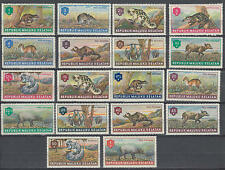YS-D556 INDONESIA - Fauna, Republick Maluku Selatan - Animals, 18 Stamps MNH