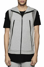 UNKNOWN Entree Life Style Unknown Lifestyle LS sleeveless vest  Hoodie SIZE L