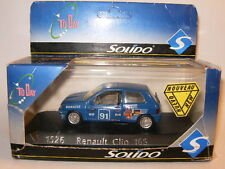 RENAULT CLIO 16S Rally N° 91 par SOLIDO Made in France ref 1526 au 1/43