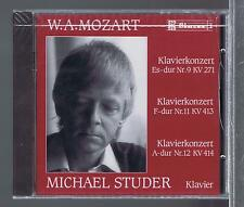 MOZART CD NEW CONCERTOS FOR PIANO 9.11.12  MICHAEL STUDER