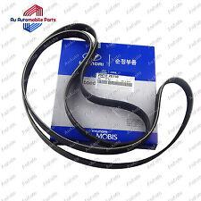 Genuine Hyundai/Kia V-RIBBED BELT Part 25212 2G710