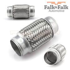 Tubo flex 45x120 flexible Pieza tubo Conducto Para Tubo De Escape acero inox.