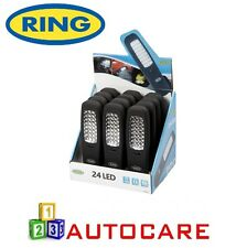 Ring 24 LED Flat Light RRL600 Includes Batteries 3x AA  Display Pack